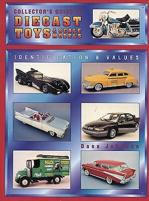 Vintage Diecast Toys and Scale Models - Makers Dates Models / Book + Values