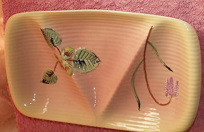 Vintage Shorter And Sons 3 Section Dish