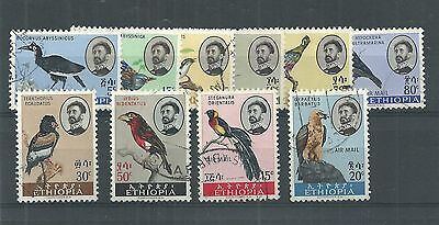 Ethiopia 1962 Birds Set Fine Used