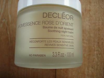 Decleor Aromessence Rose d'Orient Soothing Night Balm 100 ml BNIB FRESH STOCK