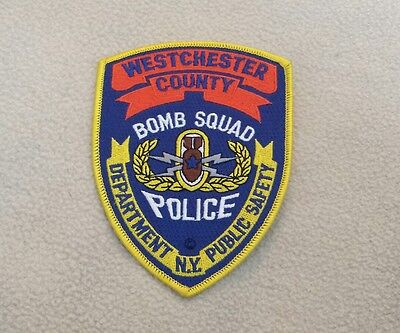 New York - Westchester County Police Bomb Squad Unit Patch