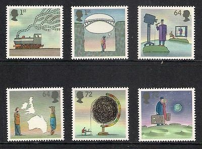 SG2721-2726 2007 World of Invention GUMMED SET Ex Booklet Unmounted Mint GB