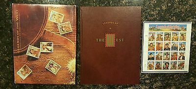 Legends of the West : A Collection of U.S. Commemorative Stamps, Mint Set #8826