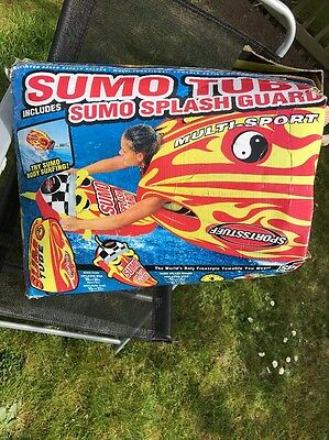 Sumo Tube Including Sumo Splash Guard Water Inflatable Water Sports Water Ski