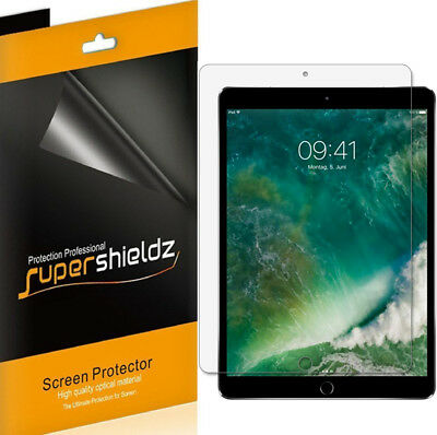 3X SuperShieldz Clear Screen Protector Saver for Apple iPad Pro 10.5 inch