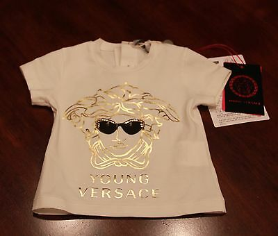 Young Versace - 6 Month Girls Shirt, NWT