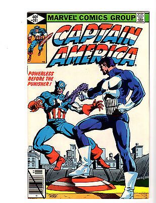 Captain America #241 (1/80) VF+ (8.5) Punisher! Great Bronze Age!