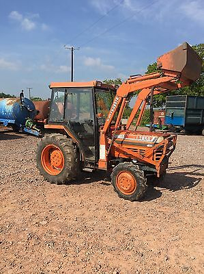 Kubota L2850 Tractor With Loader Compact Loader Tractor