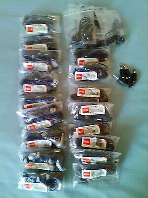 Joblot Of Mixed Earphones & Adapters  SONY,LG,NOKIA&UNIVERSAL