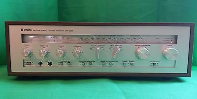 YAMAHA CR-820 Stereo Receiver - 9.5/10 Vintage Classic