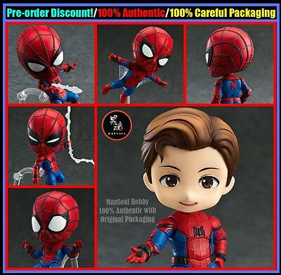 MSH Pre Order 2017 New Good Smile Company Nendoroid Spider Man Home Coming