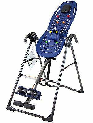 Teeter EP-560 Ltd Inversion Table with Back Pain Relief Kit Blue