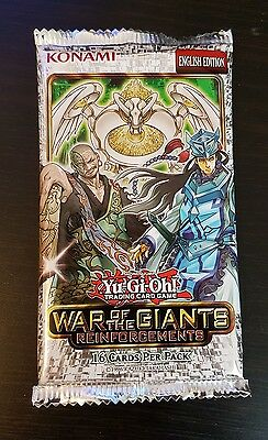 Yu-Gi-Oh! War of the Giants Reinforcements 16 card sealed pack