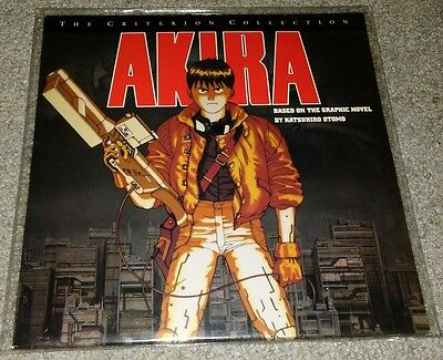 Akira Criterion Collection LaserDisc Used Rare OOP 2 Disc 2nd print