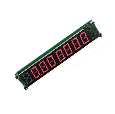 0.1-60MHz 20MHz ~ 2.4GHz RF Signal Frequency Counter Cymometer Tester Red 8LED s