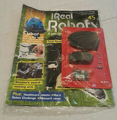 Ultimate Real Robots Magazine Issue 45, Never Opened, Building Cybot Robot