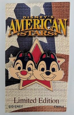 Disney's American Stars Chip &  Dale Pin - Limited Edition Of 2000