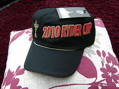 2010 Ryder Cup Cap, Celtic Manor, BNWT, FREE P&P
