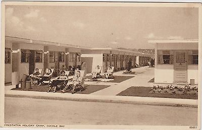 Prestatyn Holiday Camp - Cockle Bay - Wales - Postcard Used 1951