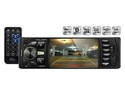 4'' LCD 1DIN USB/SD FM Bluetooth Falcon X400-BT Reproductor Multimedia Coche HD