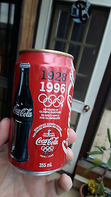 Coca-Cola can  1996 Olympic  edition 355ml canada