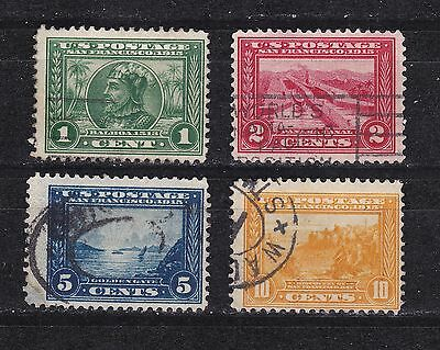 #497-400 Panama-Pacific Expo. 1913 Used Perf 12 Set
