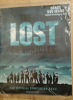 LOST TV Series / Show The Chronicles Season 1 The Official Companion Book w. DVD