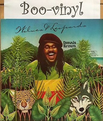 Dennis Brown  ‎– Wolves & Leopards Vinyl Lp JGML 6046 Ex+ Con