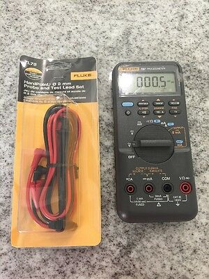 Fluke 787 Processmeter W/new leads (691)