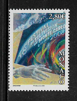 Monaco 2504 Mint Never Hinged Stamp - Television Festival