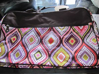Pottery Barn Teen Jet Set duffle bag multi New with tag