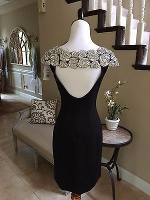 453ada7435c  480 Nwt Black Sherri Hill Prom pageant formal cocktail homecoming Dress  50640