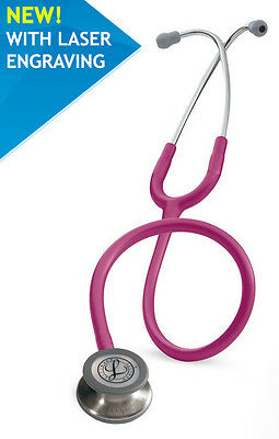 NEW 3M Littmann Classic III Stethoscope 5626 - Engraving - 1 to 2 days delivery