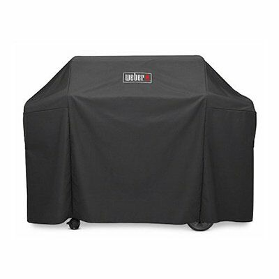 Weber 7131 GRILL COVER WITH STORAGE BAG FOR GENESIS II & GENESIS II LX 400 GRILL