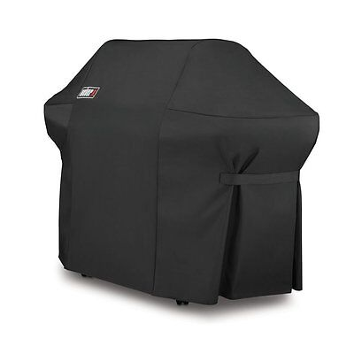 Weber 7108 SUMMIT 400 SERIES BARBECUE GRILL COVER WITH STORAGE BAG BBQ