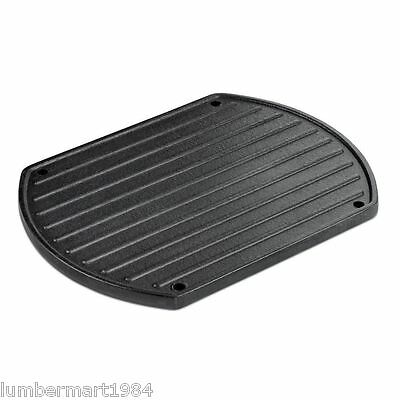 Weber 6604 PORTABLE GRIDDLE Plancha portable barbecue bbq grill breakfast cook