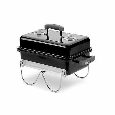 Weber 121020 GO-ANYWHERE CHARCOAL GRILL BLACK 160 square inches camping