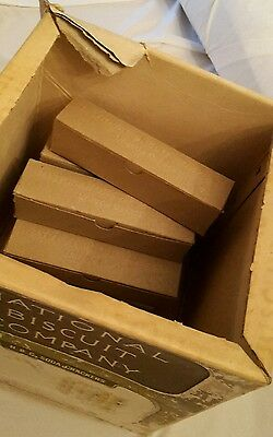 SUPER RARE - National Biscuit Company Uneeda Nabisco 11 Individual Biscuit Boxes