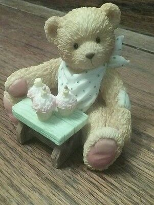 P. Hillman Hamilton Gifts - Age 3 - 3 Cheers For You - Bear Figurine