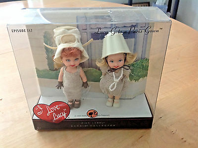 """Barbie Collector """"I Love Lucy"""" Episode 147 """"Lucy Gets a Paris Gown"""" NIB"""