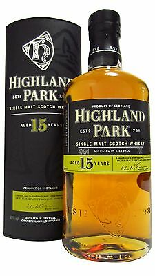 Highland Park - Limited Edition UK Exclusive 15 year old  Whisky