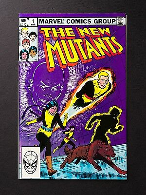 "NM-M !! / The New Mutants #1 / First Issue / ""New Mutants"" 1 / Pre- Deadpool"