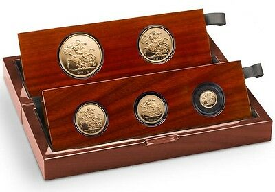 The Sovereign 2014 Five - Gold Coin Set