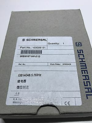 Schmersal Protect Safety Relay SRB 301ST V2
