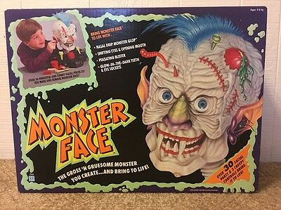 Monster Face Hasbro Horror Toy Vintage 1992 Unopened