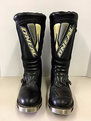 O'Neal Element Boots Motocross Racing Motorcycle MX Off Road Size 14 Gently Used