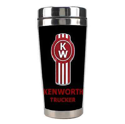 Kenworth trucker Double Walled Stainless Steel Travel Coffee Mug Cup 86824304