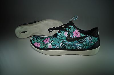 5c579d67 Brand New Nike Solarsoft Moccasin Sp Floral Hawaiian Size 11 Black Woven  Yeezy