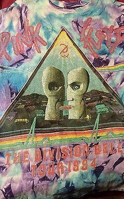 Vintage Pink Floyd Division Bell Tour Shirt | 1994 | Men's L I Free Shipping
