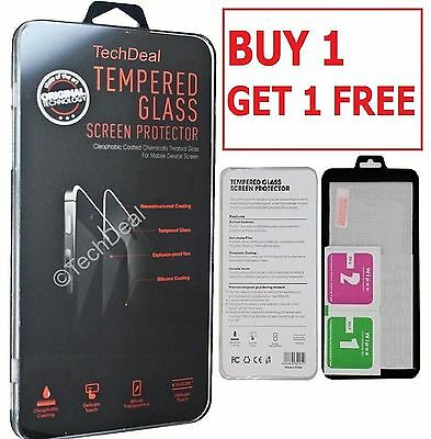 2 x REAL TEMPERED GLASS FILM LCD SCREEN PROTECTOR FOR SAMSUNG GALAXY S6,S7